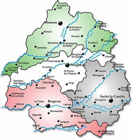 La Dordogne – Un peu de géographie