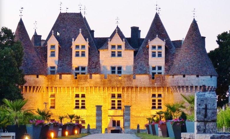 Chateau de Monbazillac en Dordogne