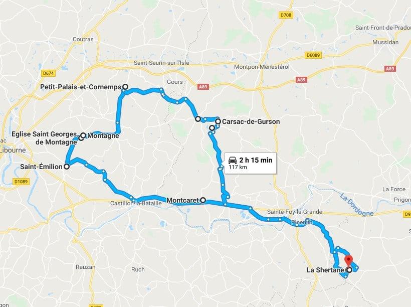 Circuit voiture en Gironde