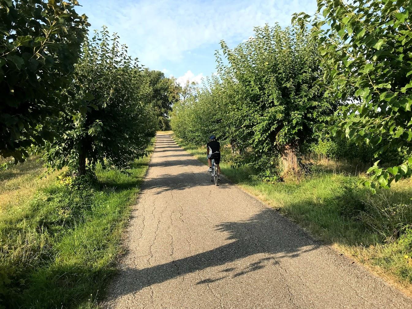 Circuit vélo depuis La Shertane