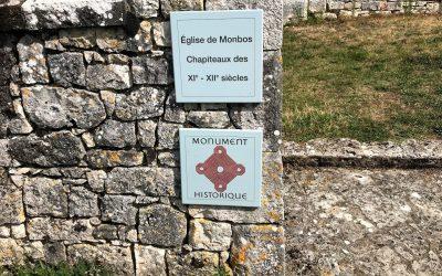 Visite de l'église de Monbos